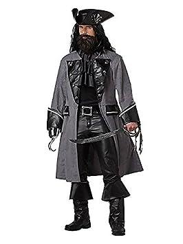 Disfraz Pirata oscuro adulto L: Amazon.es: Juguetes y juegos