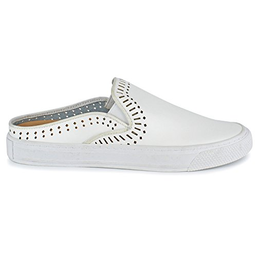 Women's Slip by Chrissy Moxy Dolce On Shoes White Mojo OwBqIST1