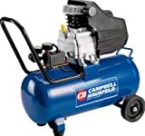 Campbell Hausfeld Air Compressor, 8-Gallon Horizontal Oil-Lubricated 3.7CFM 1.3HP 120V 10A 1PH (HL540100AV)
