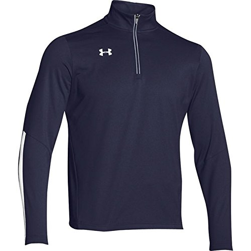 Under Armour Men's Qualifier 1/4 Zip Pullover Navy/White Size Small by Under Armour