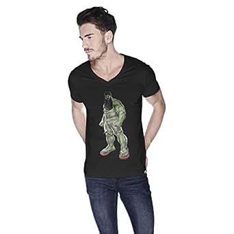 Creo Hulk Arab Super Hero T-Shirt For Men - L, Black