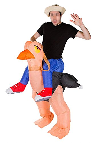 Ameyda Inflatable Ostrich Blow Up Animal Adult Fancy Dress (Luminous Fancy Dress Costumes)