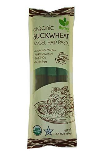 Bgreen Gluten-Free Organic Buckwheat Angel Hair Pasta Vegan 8.8oz
