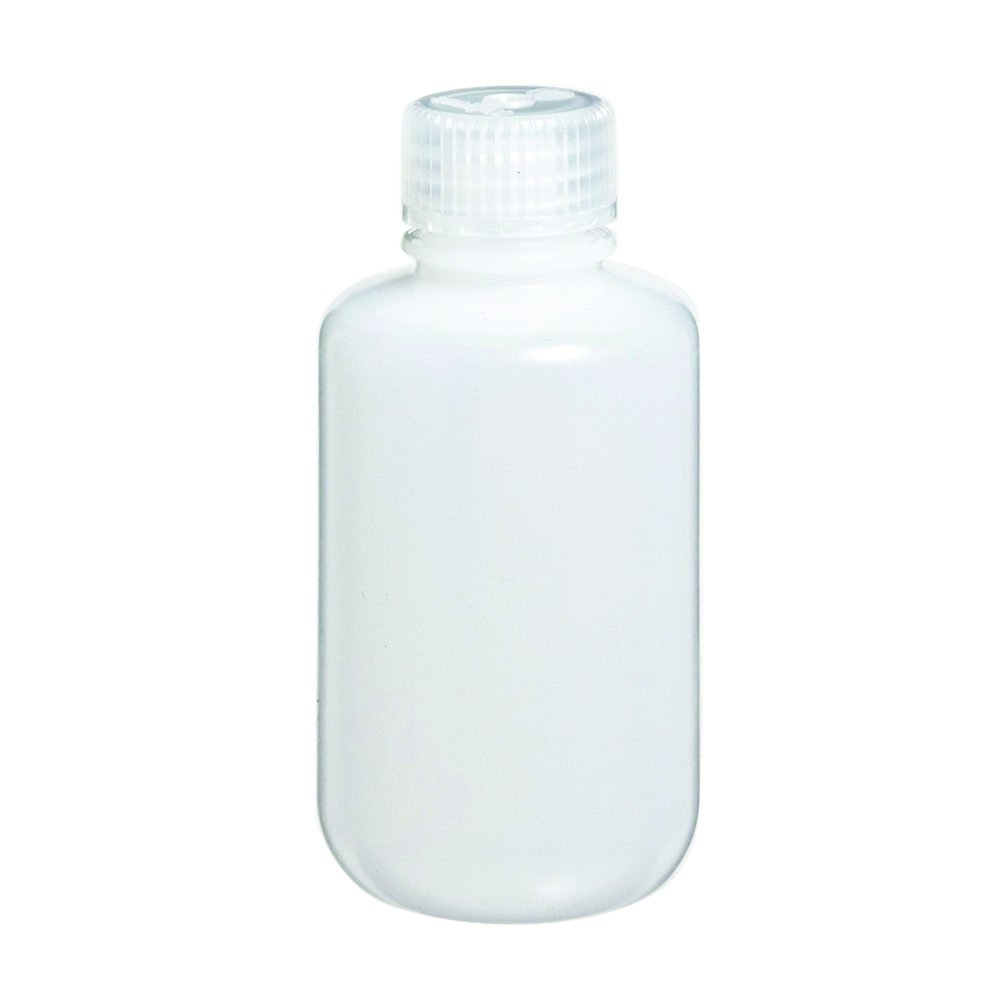 25ml Narrow-Mouth Round Media Storage Bottle, HDPE Material, Screw Cap in PP Material, Leakproof, Karter Scientific 238F2 (Pack of 12)