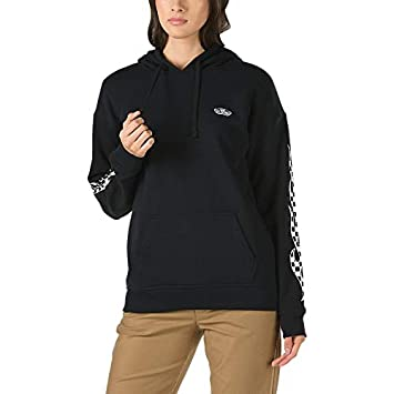 547a09c4a3 Vans Checker Flame Hoodie -Fall 2018-(VN0A3UKQBLK1) - Black - XL  Amazon.co. uk  Sports   Outdoors