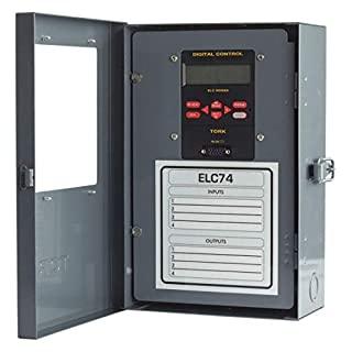 NSI ELC Series Energy and Lighting Control Zone Time Switch, 24/120/208-240/277 VAC, 4 Channels, SPDT Output Contact (ELC74)