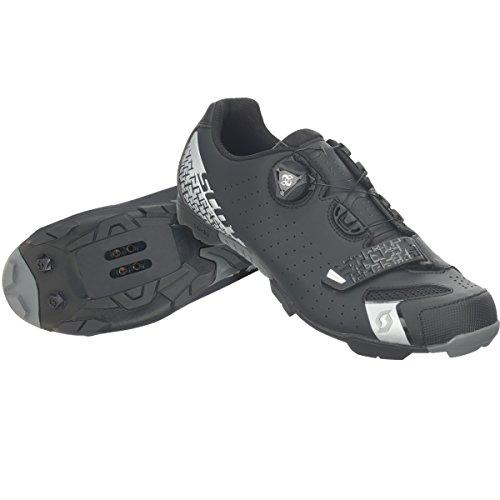 Silber Scott Comp Noir 5547 de Homme Radschuh MTB VTT Chaussures Schwarz Boa q7xFvUq