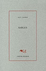 sables par Paul Laborde