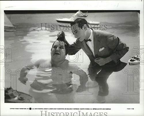 Vintage Photos 1985 Press Photo Entertainer Pee-Wee Herman in Pee-Wee's Big Adventure