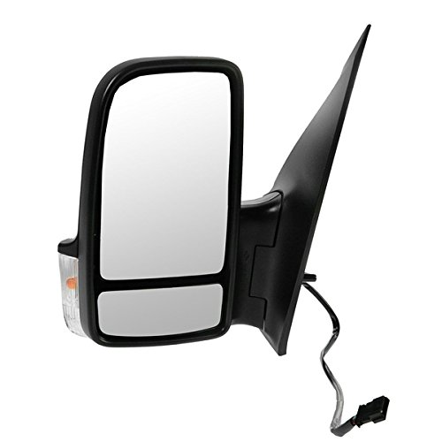 Koolzap For 06-13 Sprinter Van Power Heat Turn Signal Lamp Rear View Mirror Left Driver Side