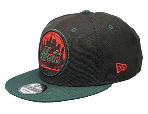 New York Mets Black Wool - MLB New York Mets 2-Tone 9FIFTY Green Snapback Cap