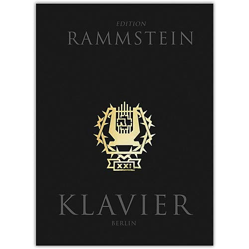 Rammstein - Klavier Piano/Vocal/Guitar Artist Songbook Hardcover with CD Pack of 2