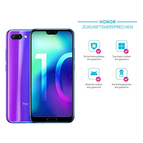 chollos oferta descuentos barato Honor 10 5 84 SIM Doble 4G 4GB 128GB 3400mAh Azul Smartphone 14 8 cm 5 84 4 GB 128 GB 24 MP Android 8 0 Azul