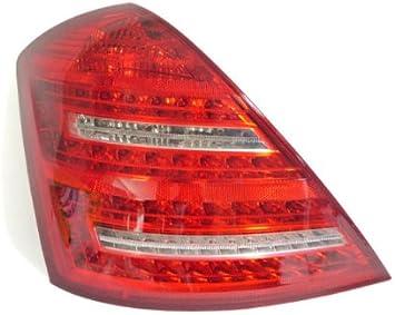 07-09 Mercedes W221 S550 S600 Front Left Side Mirror Door Rear View Black OEM