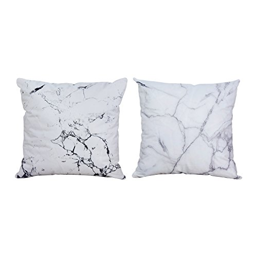 BLEUM CADE Marble Pillow Cover Home Decorative Polyester Throw Pillow Cover