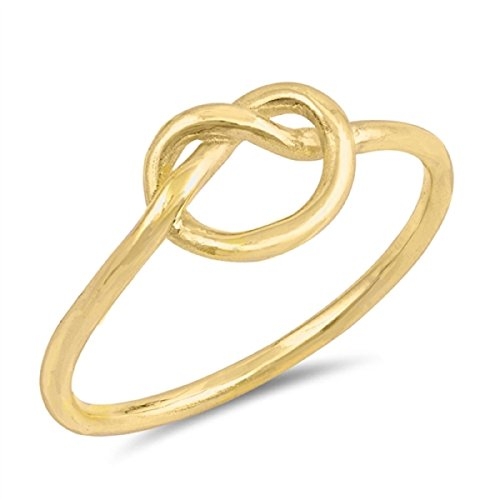 Yellow Promise Ring - 6