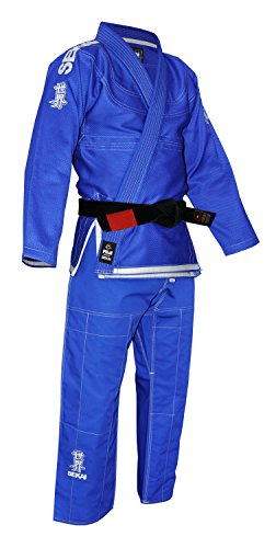 Fuji Sekai BJJ Uniform, Blue, A4