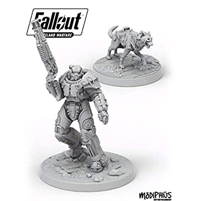 Fallout: Wasteland Warfare - X01 Survivor & Dogmeat: Toys & Games