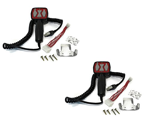 (2) Hand Held Controllers for Western 56462 & Fisher 8292 9400 Straight Snowplow / Snowblade (Western 6 Pin Controller)