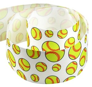 Softball Ribbon for Crafts - Hipgirl 5 Yard 1.5