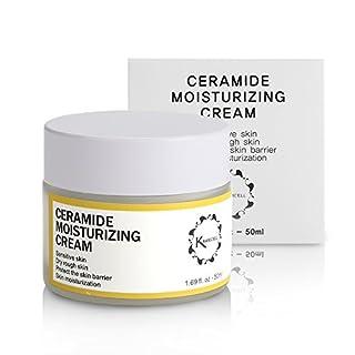 Kranicell Ceramide Moisturizer Cream 1.69 Ounce for Anti Aging, Anti Wrinkle, Hydrating, Moisturizing, Korean Skin Care Natural Organic Ceramides Moisturizing Cream face for Sensitive and Dry Skin