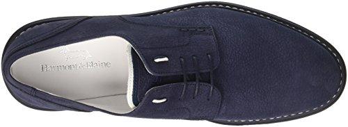 Harmont & Blaine Derby, Sneaker Uomo Blu (Dark Blue)