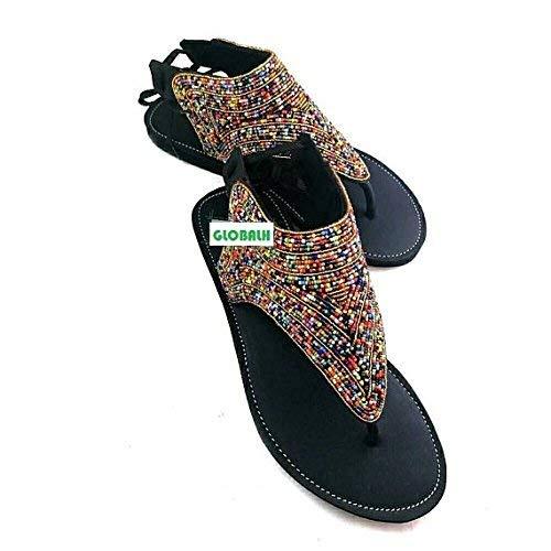 61ce8de5511c Amazon.com  GlobalHandmade Handmade reef sandy gladiator sandals for women
