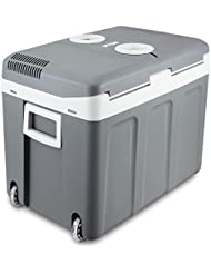 Portable Electric Mini Fridge Car Auto Cooler 12v Travel Warmer Camping w/ Wheel + FREE E - Book