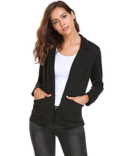 Bifast-Womens-Solid-Long-Sleeve-Open-Front-Slim-Fit-Casual-Blazer-Jacket