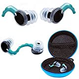 Fitian Waterproof Silicone Sports Swim Earplug for Swimming, Surfers, Swimmers and Other Water Athletes