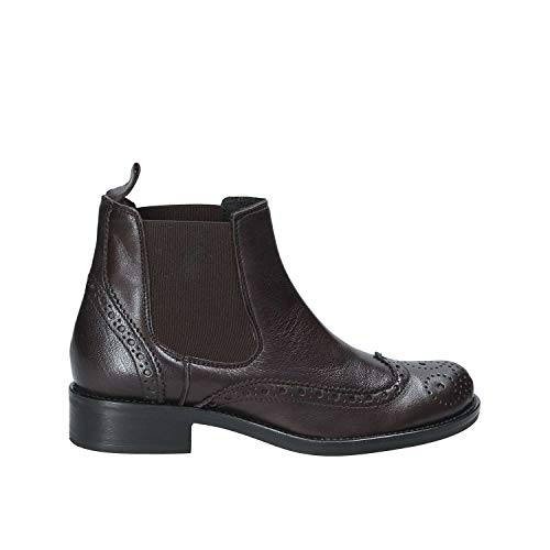 Marròn Casual 40 Mujeres Mally 4591 Zapatos qZxwp0S