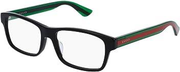 Eyeglasses Gucci GG 0006 OA Rectangular Eyeglasses Asian Fit