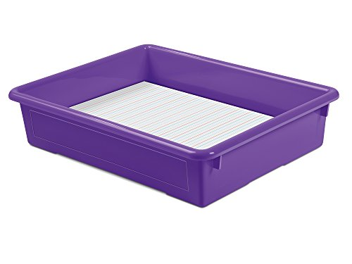 Lakeshore Heavy-Duty Paper Tray - Purple