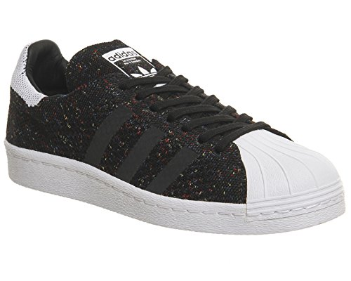 Primeknit Superstar Hombre Adidas 80's Noir Zapatillas Blanco EfqtUdxt