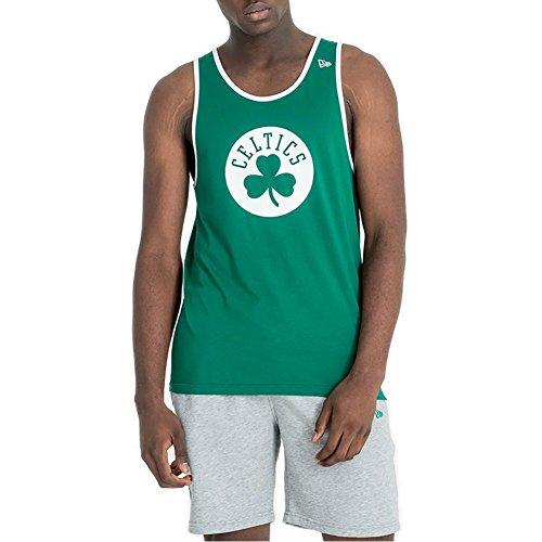 New Era Tank Top NBA Boston Celtics Team App Pop Logo Vert/Blanc