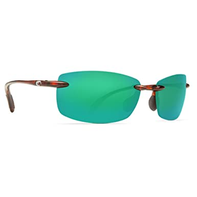 Costa del Mar ba10ogmp balasto Mens Tortoise Frame Verde 580P lente gafas polarizadas gafas