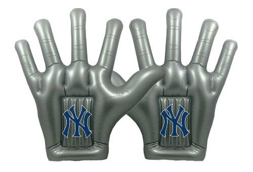 (MLB New York Yankees ThunderHands 24-Inch Jumbo Inflatable Fan Hands)