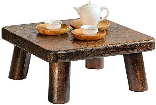 RCLD Las mesas de Centro de Mesa de Madera Tatami del jardín de té de Baja Antiguo Ventana Japonesa Sólido Pequeño Creativo Sencillo Sun Taiwan Muebles de Madera de Paulownia: Amazon.es: Hogar