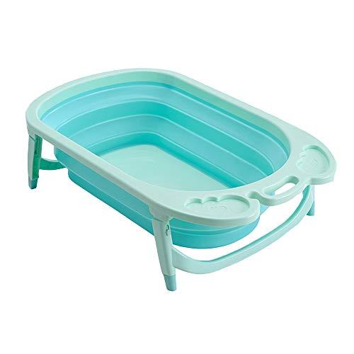 LYY Plástico Plegable bebé bañera, Aislado Seguro Antideslizante portátil y Robusto, Adecuado para niños Menores de 6...