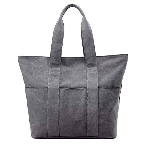 toile Burley portable nouveau et à sac simple sac gris d'épaule femmes LANDONA pouvez à lettres sac élégant bandoulière de tissu à de en Vous main main PvfETnR