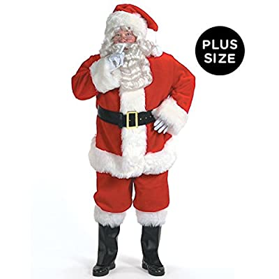 Halco Holidays Men's Professional Santa Claus Suit Costume