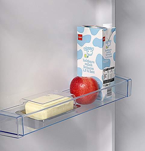 APS frigorifero-burriera ca 16 x 9,5 cm in acciaio inox aroma solido coperchio VE 12