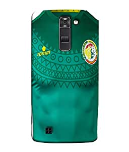 ColorKing Football Senegal 07 Green shell case cover for LG K10