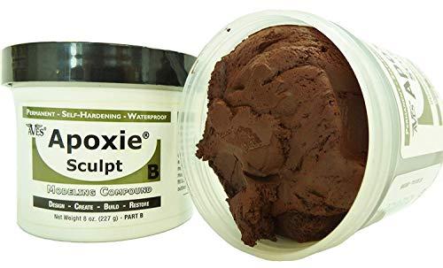 - Apoxie Sculpt 1 lb. Brown, 2 Part Modeling Compound (A & B)
