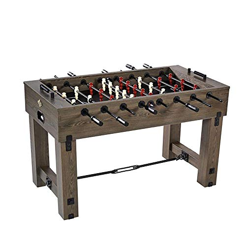 Indoor Foosball Table - Lancaster Gaming Company Medal Sports 56 Inch Traditional Indoor Game Room Multiplayer Foosball Table