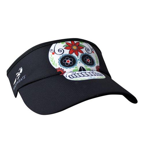 - Headsweats 7703-401SBSS Supervisor Sweat Band, Black Skulls, One Size