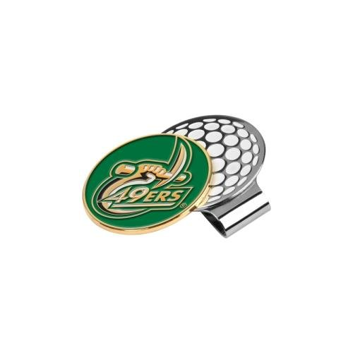 LinksWalker NCAA North Carolina Charlotte 49ers Golf Hat Clip with Ball Marker