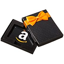 Amazon.ca $50 Gift Card in a Black Gift Box (Classic Black Card Design)