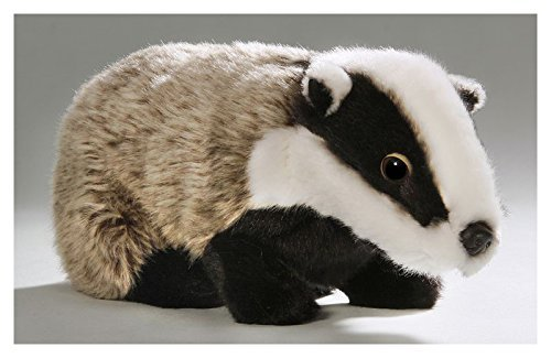 Carl Dick Badger 9.5 inches, 24cm, Plush Toy, Soft Toy, Stuffed Animal 2964 ()