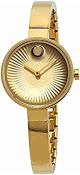 Movado Edge Yellow Gold Plated Women's Watch